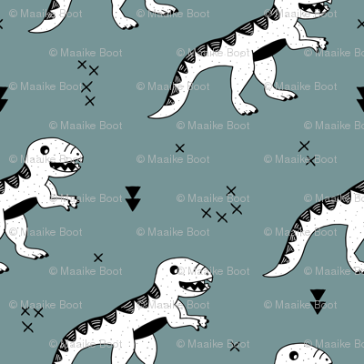 Cool tyrannosaurus dinosaurs history theme for kids stone gray