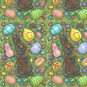 CHOCOLATE EASTER BUNNIES