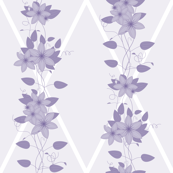 Glory Bower Clematis: Lavender & Violet Purples