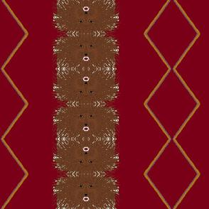 Tribe of Judah burgundy