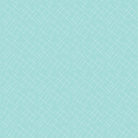 Textured Solid Aqua Blue Green Mint Abstract Linen || Spring Quilt Coordinate _ Miss Chiff Designs  fabric by misschiffdesigns on Spoonflower - custom fabric