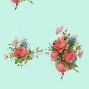 background roses