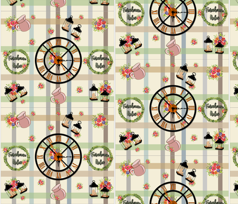 farmhouse_chic fabric by quizzicalkittydesigns on Spoonflower - custom fabric