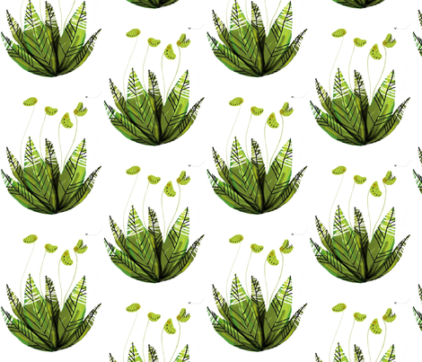 Hungry fabric by yeya_ogg on Spoonflower - custom fabric