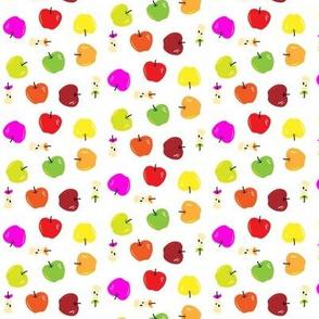 multicolor apple toss small