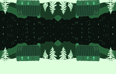 mountaincabincolor fabric by serenity_ii on Spoonflower - custom fabric