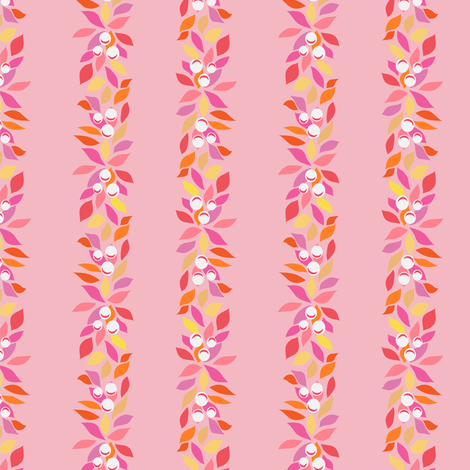 Floral stripe: All the Pretty Little Horses coordinate fabric by vo_aka_virginiao on Spoonflower - custom fabric