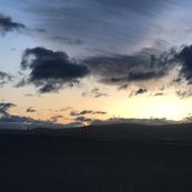 Trippy Merrill sky