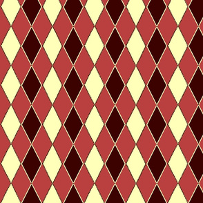 argyle remix burgundy mauve white