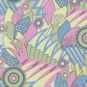 Deco Shapes Pastels