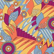 Deco Shapes Vibrant