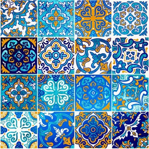Sea breeze spanish tile