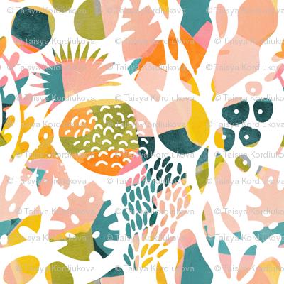 Jungle watercolor