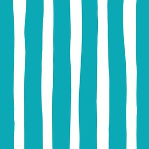 Basic vertical stripes monochrome circus theme soft pastel pink