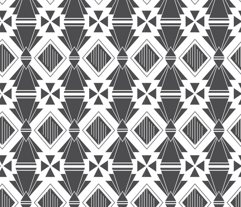 Deco fabric by suzytaylordesigns on Spoonflower - custom fabric