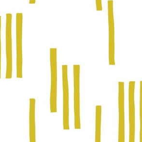 Basic stripes and strokes monochrome circus theme yellow
