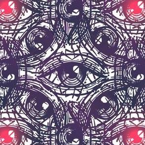 Glowing Red Eyes