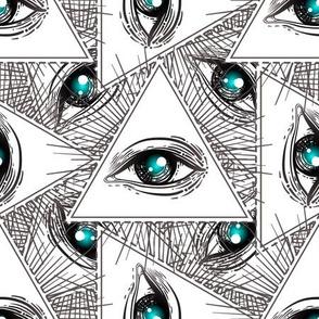 Geometric All Seeing Eye