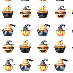"1.5"" Halloween Cupcake Doodles"