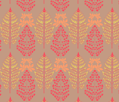 ferns fabric by noepe_design on Spoonflower - custom fabric