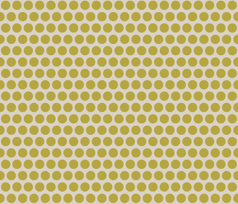 spot brass mist fabric by scrummy on Spoonflower - custom fabric