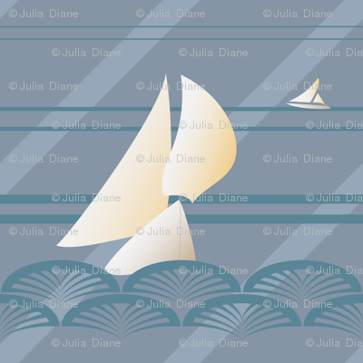 Sailing Art Deco