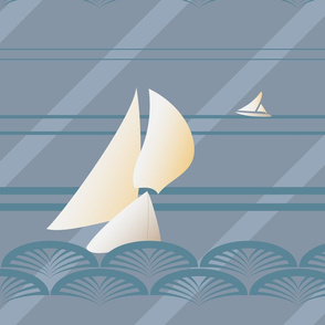 Sailing Art Deco
