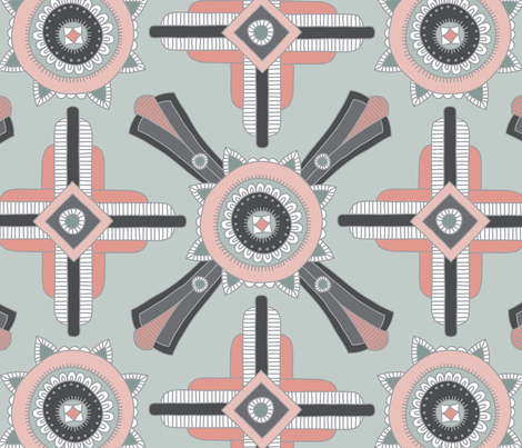 Luxe Deco fabric by andie_hanna on Spoonflower - custom fabric