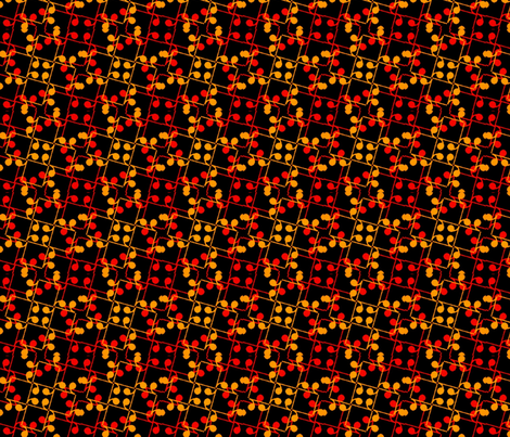 Autumn Eighth Rests fabric by anneostroff on Spoonflower - custom fabric