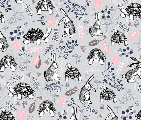 By A Hares Breadth fabric by gingerlique on Spoonflower - custom fabric
