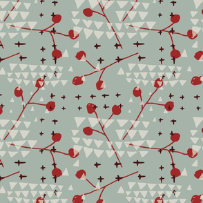 Holiday Triangles and Berries