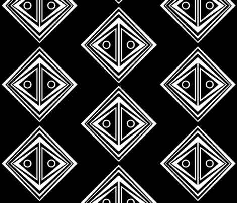 Mask Box fabric by thiqdesigner on Spoonflower - custom fabric