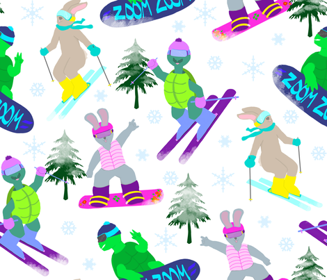 Even Playing Feild on Uneven Ground3 fabric by everhigh on Spoonflower - custom fabric