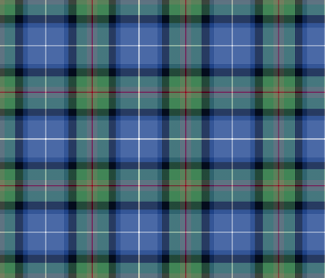 "Tweedside hunting tartan, custom variant #2, 6"" fabric by weavingmajor on Spoonflower - custom fabric"