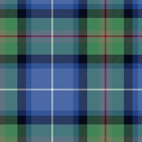 "Tweedside hunting tartan, custom variant #2, 6"""