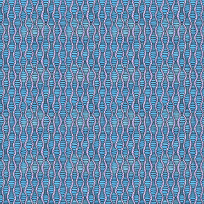 Ovals Blue Yupo