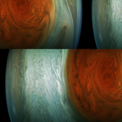 The Great Storm on Jupiter