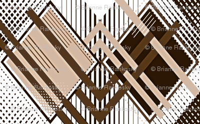 Sepia Harlequin Illusion
