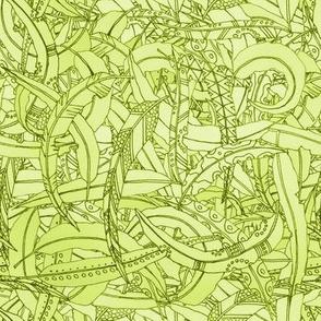 Australian Gum Leaves Green
