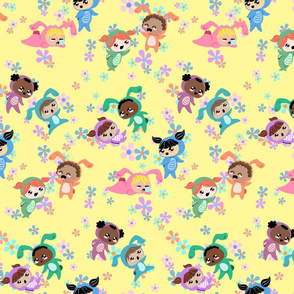 Turtle Girls and Bunny Boys