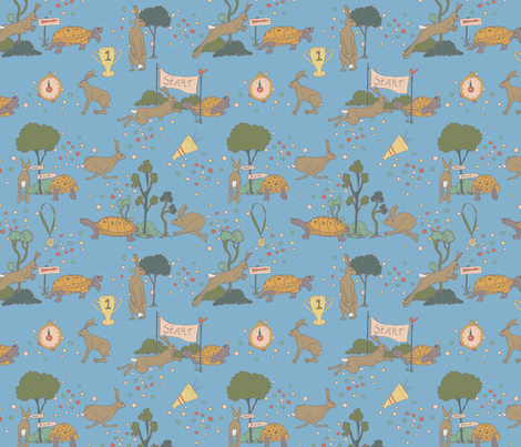 racingstories fabric by hanneke_binnen on Spoonflower - custom fabric