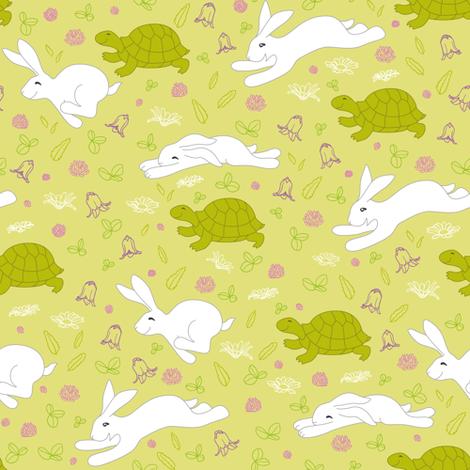 gotortoisego_pattern_crop fabric by kasumidesign on Spoonflower - custom fabric