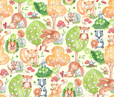 Tortoise, Hare and friends