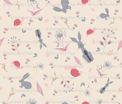 Tortoise and Hare_Spoonflower