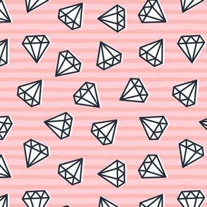 diamonds - stripes