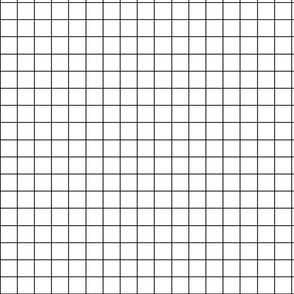 White plaid fabric pattern.