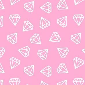 diamonds - pink