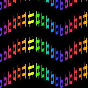Rainbow Musical Metamorphosis