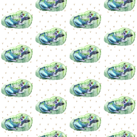 Lily Padded fabric by dreneewilson on Spoonflower - custom fabric