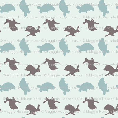 Tortoise and Hare Print
